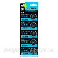 Литиевая Батарейка Videx CR2032 3V Цена за блистер 5шт 5003LC