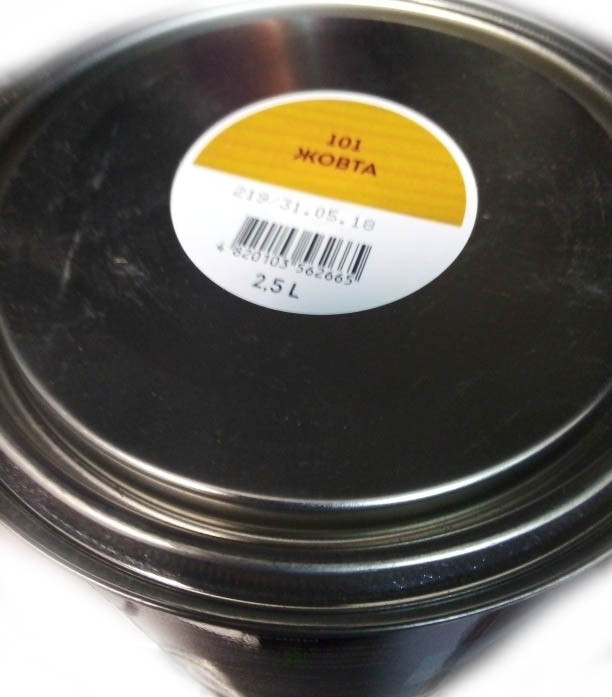 Лазур Ролакс 101 жовта 2,5 л