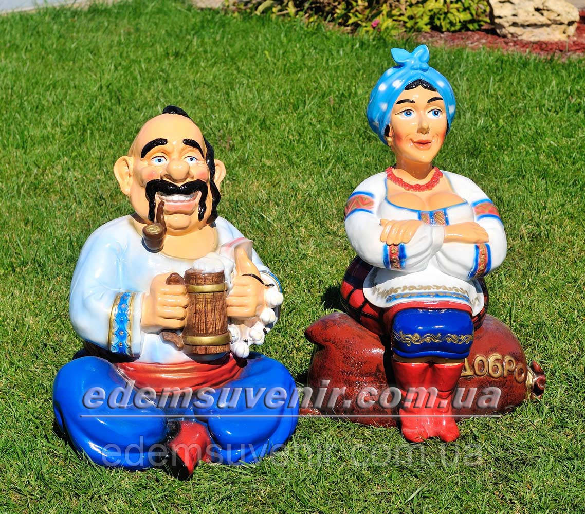 Садовая фигура Хозяин и Хозяйка