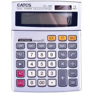 """Настольный калькулятор """"EATES"""" DC-1588 (12 разрядный, 2 питания) , фото 2"""