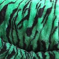 Чехлы меховые универсальные зеленые