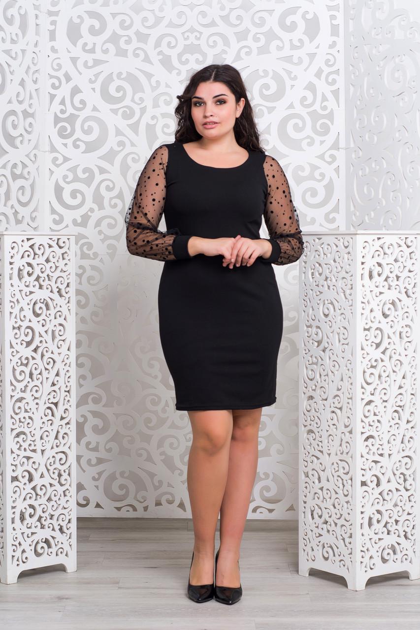04eecca6b72 Элегантное черное платье   продажа