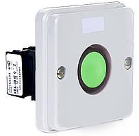 Пост кнопочный ПКЕА-122-1 зелёный цилиндр