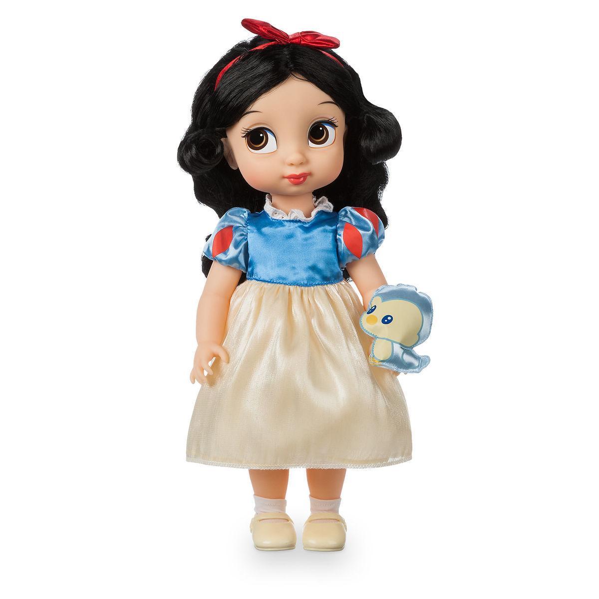 Disney Animators Дисней Аниматор Кукла малышка Белоснежка - Белоснежка и семь гномов