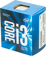 Процессор Intel Core i3 7100 3.9GHz (3MB, Kaby Lake, 51W, S1151) Box (BX80677I37100)