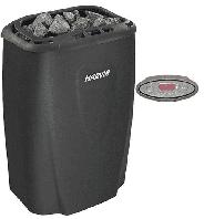 Электрокаменка Harvia Moderna V 80 E Black (выносной пульт в комплекте)