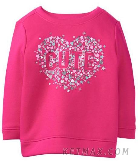 Утепленный пуловер Gymboree для девочки
