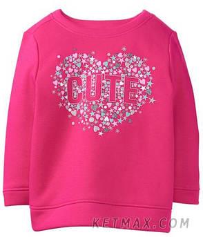 Утепленный пуловер Gymboree для девочки, фото 2