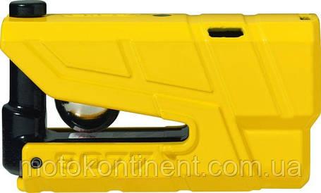 0054699 Противоугонный мотозамок с сигнализацией ABUS DETECTO X-PLUS 8077, фото 2