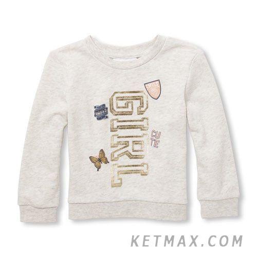 Утепленный пуловер The Children's Place для девочки