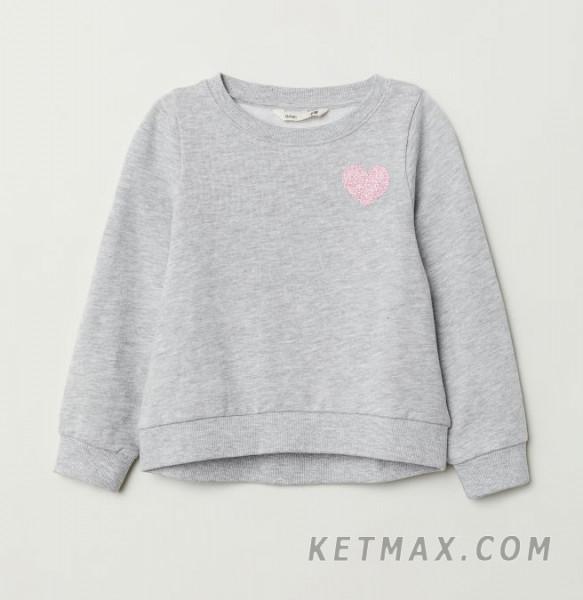 Утепленный свитшот H&M для девочки