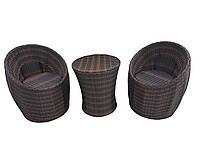 Комплект плетеный из искусственного ротанга Бордо