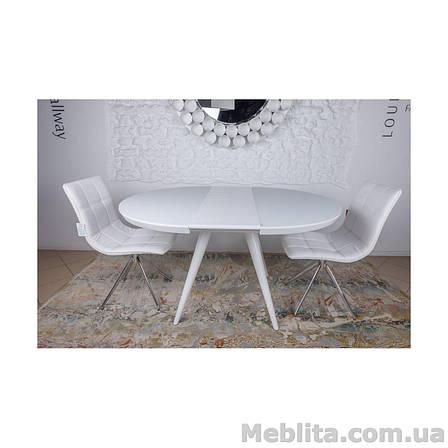 Стол Nicolas Austin HT2398 (110/145*110*76) белый, фото 2