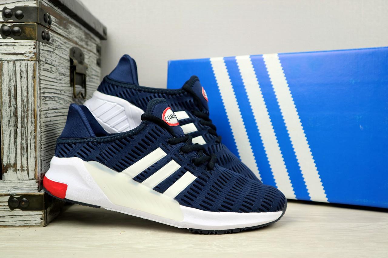 Кроссовки Adidas ClimaCool (весна-осень, текстиль, синий)