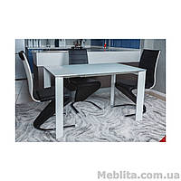 Стол Nicolas Bristol B 4426L (130/200*85*75) белый