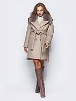 Женское зимнее пальто  модное Альбина