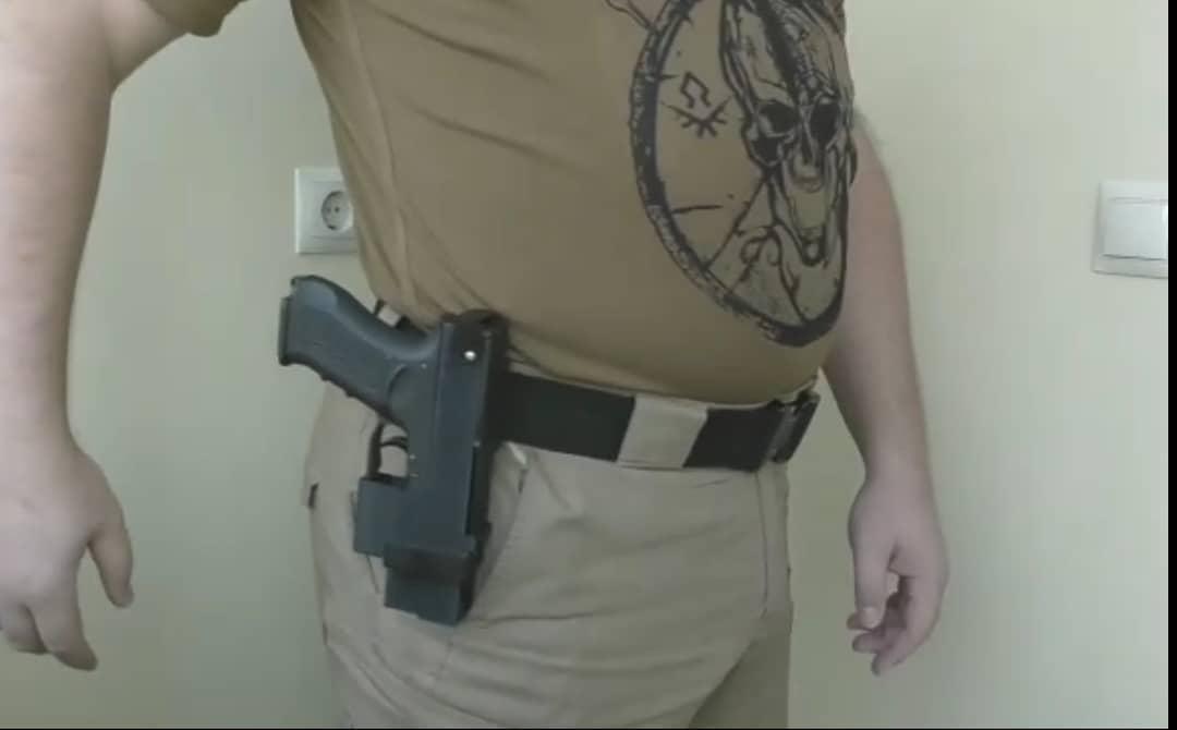 Кобура для Glock 17 Ukrainian Holster