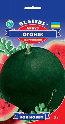 Арбуз Огонек ранний, пакет 3 г - Семена арбуза, фото 2