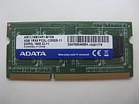 Память SoDIMM ADATA DDR3-1600 4GB 1Rx8 PC3L-12800S 11