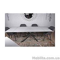 Стол Nicolas Lincoln 4626L (160/240*90) керамика белый глянец
