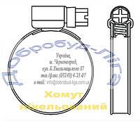 Хомут для гофротруб 110-130 мм