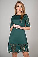 Платье женское с перфорацией в 4х цветах OLS Фисента, фото 1