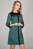 Платье женское с гипюром в 4х цветах OLS Таура, фото 1
