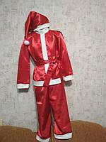 Детский карнавальный костюм Деда Мороза на мальчика 5-7 лет