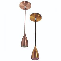 """Светильник подвесной """"EDISON"""" Е27 (медь, бронза, золото, хром, перламут. черный)"""
