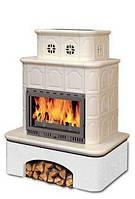 Печь-камин Termovision VILLACH з двома поличками і двома запічками 14kW