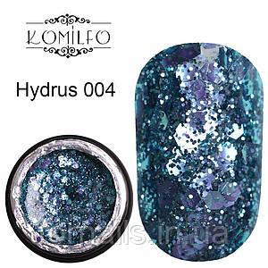 Komilfo Star Gel №004 Hydrus, 5 мл