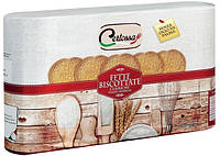 Хлебцы - сухарики круглые для завтрака Fette Biscottate Certossa Италия, 600 г., фото 1