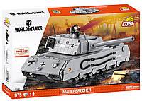 Конструктор Танк Mauerbrecher COBI World Of Tanks (COBI-3032), фото 1
