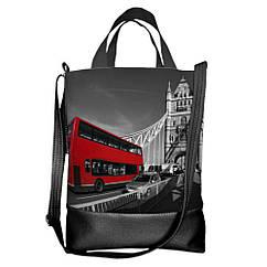 Городская сумка Лондон 40х34х11см