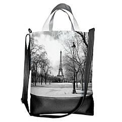 Городская сумка Париж 40х34х11см