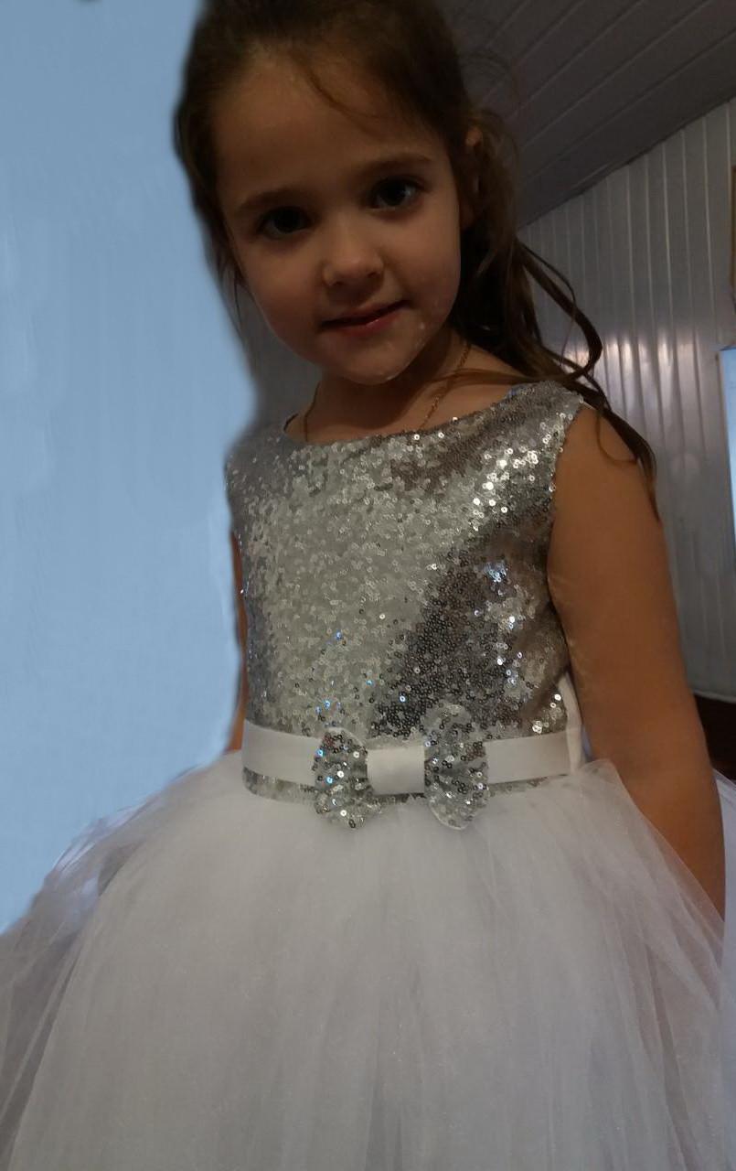 7c02dd00461 Блестящее с пайетками праздничное платье на девочку 10-11 лет. - Exclusive  в Хмельницком