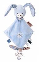Мягкая игрушка квадратная кролик Бибу Nattou