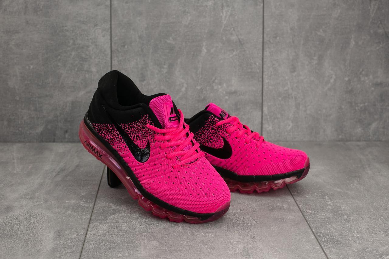 f93f2b44 Кроссовки Nike AirMax (весна-осень, кожа прессованая, розовый ...