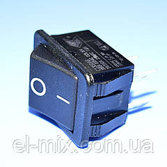 Выключатель AE-C1350ABAAB (RS201) черный 1-группа ON-OFF  Arcolectric