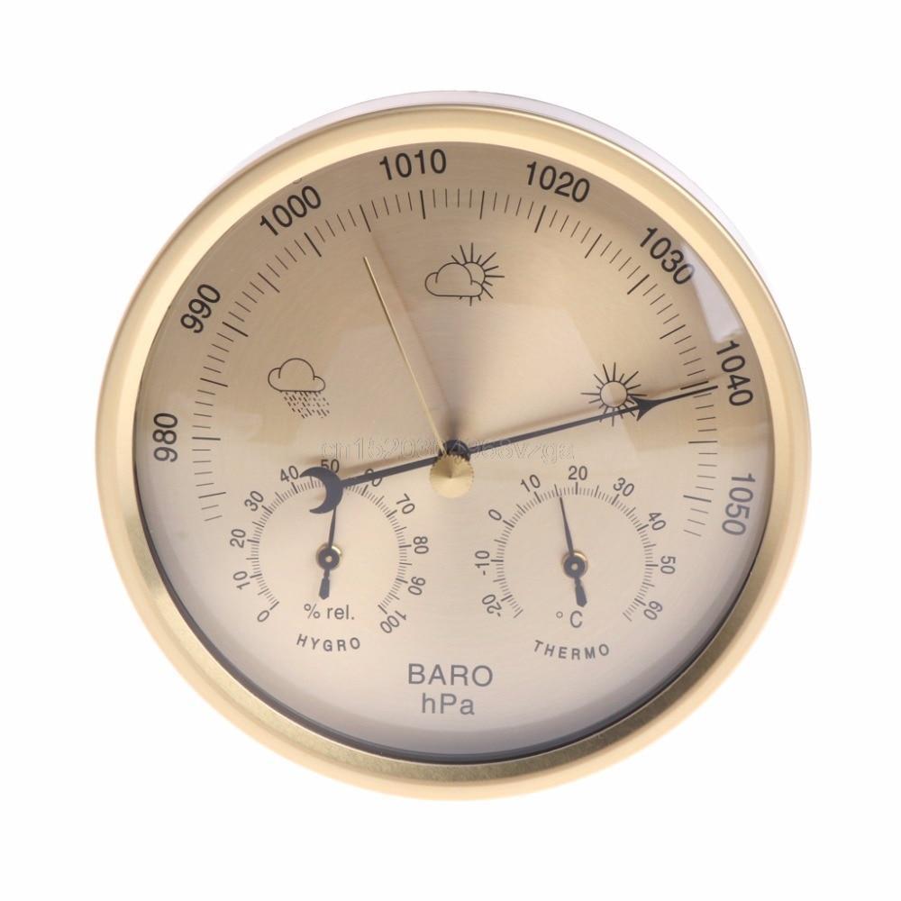 Бытовой термометр - гигрометр, барометр OOTDTY №0014