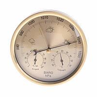 Побутовий термометр - гігрометр, барометр OOTDTY №0014, фото 1