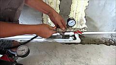 Испытание системы отопления