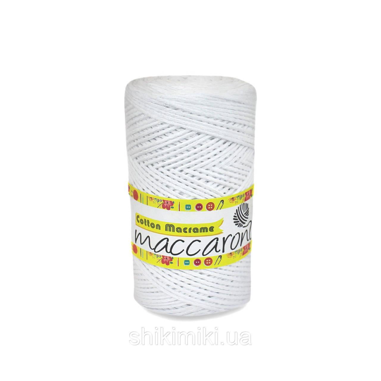 Трикотажный шнур  Cotton Macrame, цвет белый