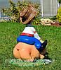 Садовая фигура Козак охотник и Свинопас, фото 5