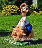 Садовая фигура Козак охотник и Свинопас, фото 4
