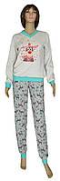 NEW! Новогодние домашние пижамы Family Look - мама + дочка - в размерах от 36 по 54!