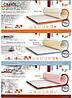 Новогодние Скидки на тонкие беспружинные ортопедические матрасы-топерры для диванов и кресел