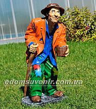 Садовая фигура Нищий и Нищенка, фото 2