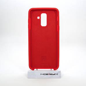 Чехол Original Soft Samsung Galaxy A605 A6 Plus 2018 red, фото 2