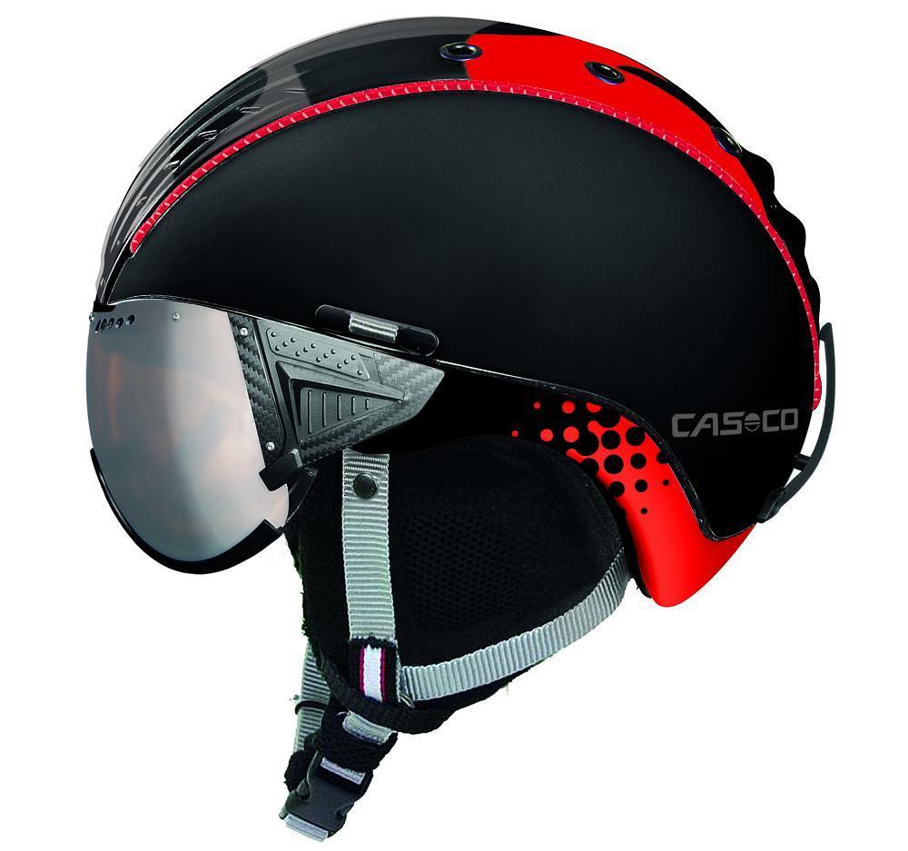 Горнолыжный шлем с визором Casco SP-2 snowball visor f1, L (58-60), XL (60-62) (MD)